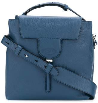 Tod's square flap tote bag