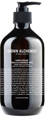 LG Electronics Grown Alchemist Hand Cream Vanilla/Orange Peel, 16.7 oz./ 500 mL