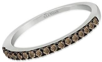 LeVian Le Vian Women's Le Vian Chocolatier Diamond & 14K White Gold Ring