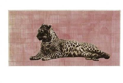Fauna Balsa Wall Hanging - Leopard