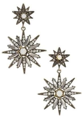 Stella + Ruby Starburst Statement Earrings
