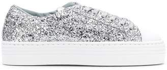 Chiara Ferragni glitter low-top sneakers