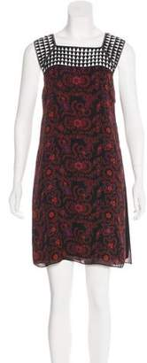 A.L.C. Silk Printed Dress