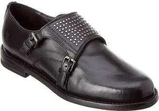 Frye Charlotte Monk Leather Oxford