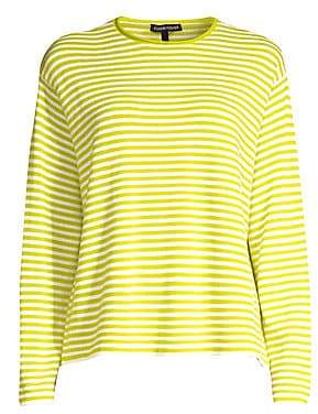 Eileen Fisher Women's Striped Merino Wool Sweater