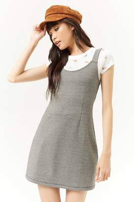 Forever 21 Houndstooth Skater Mini Dress