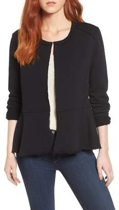 Caslon Knit Peplum Jacket
