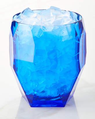 Mario Luca Giusti Antarctica Frost Acrylic Ice Bucket, Blue