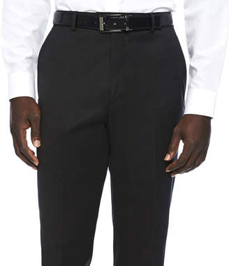 Blend of America STAFFORD Stafford Travel Wool Stretch Flat Front Suit Pants-Classic Fit