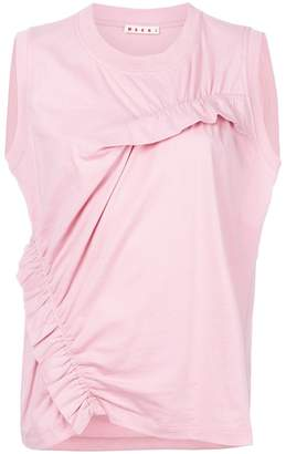 Marni ruffled sleeveless top