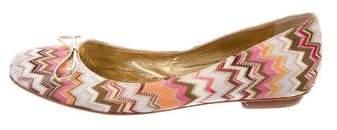 Missoni Chevron Ballet Flats