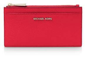 MICHAEL Michael Kors Money Pieces Large Slim Leather Card Case