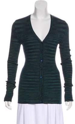 Missoni V-neck Button-Up Cardigan