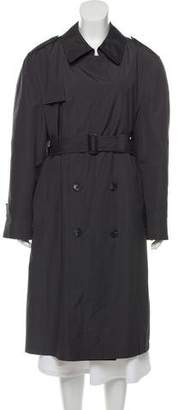 Christian Dior Button-Up Trench Coat