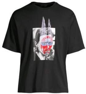 Diesel Black Gold DBG Cotton Graphic T-Shirt