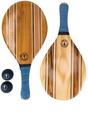 Frescobol Carioca bi-colour beach bat set