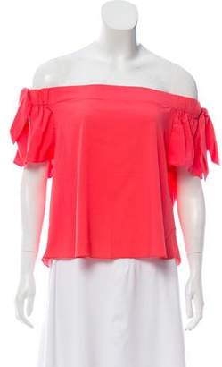 Timo Weiland Kylie Off-The-Shoulder Top w/ Tags