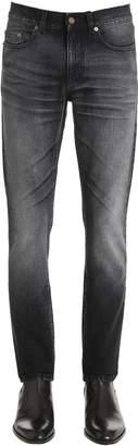 Saint Laurent 15.5cm Patch Cotton Denim Jeans