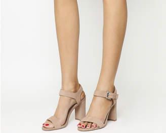 Office Hun Block Heel Sandals