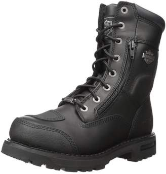Harley-Davidson Men's Riddick 8-Inch Lace-UP Motorcycle Boots D98308