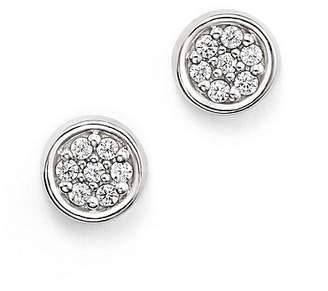 Bloomingdale's Diamond Bezel Set Small Stud Earrings in 14K White Gold, .10 ct. t.w. - 100% Exclusive