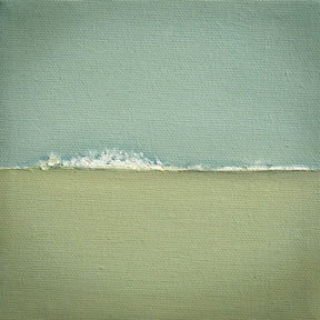 Amanda Kavanagh Blue Wave Print