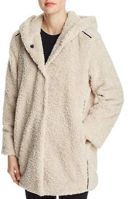 Gypsy 05 Capote Teddy Faux-Fur Hooded Jacket