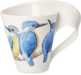 Villeroy & Boch New Wave Animal Collection Porcelain River King Fisher Mug