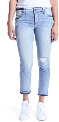 KUT from the Kloth Reese Ripped Ankle Jeans