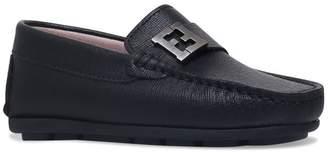 Fendi Logo Loafers