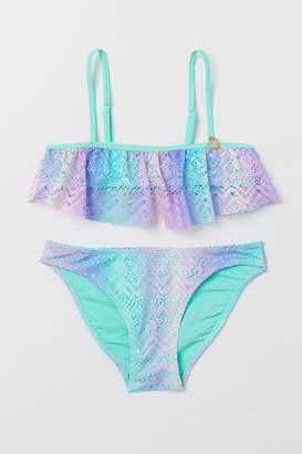 H&M Flounced bikini with lace