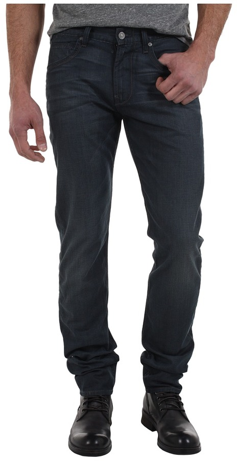 7 For All Mankind The Straight in New Grey Shade (New Grey Shade) - Apparel