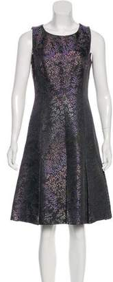 Michael Kors Jacquard A-Line Dress