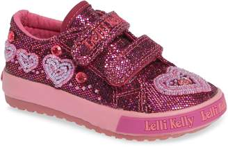Lelli Kelly Kids Beaded Sneaker