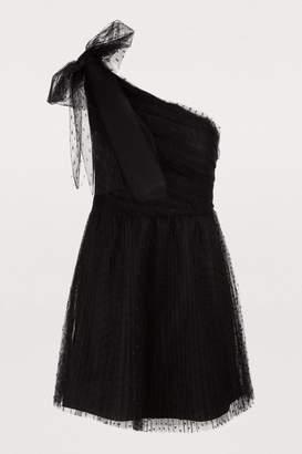 RED Valentino Off-the-shoulder short dress