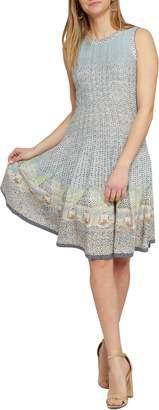 Nic+Zoe Sunny Days Twirl Sweater Dress