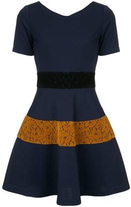 GUILD PRIME lace panelled dress