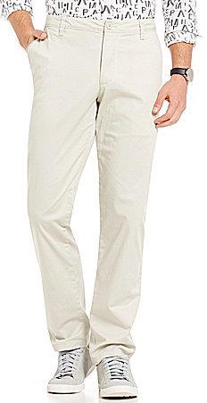 Armani Exchange Armani Exchange Basic Straight-Fit Flat-Front Chino Pants