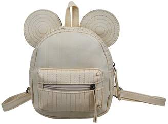 Posher TM FL6 Girls PU Leather Cartoon Mini backpack shoulder bag