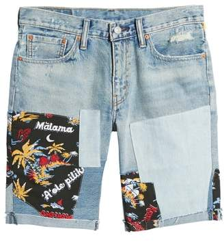 511(R) Cutoff Denim Shorts