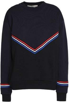Être Cécile Embroidered Cotton Sweatshirt