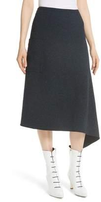Tibi Eclipse Origami Pique Skirt
