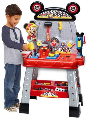 Just Play Disney's Mickey & the Roadsters Racers Workbench