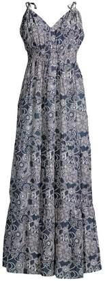 Roller Rabbit Dihn Valeria Printed Maxi Dress