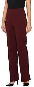 Liz Claiborne New York Petite Ponte Knit FlareLeg Pants