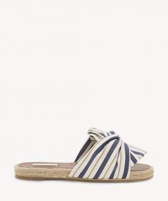 Sole Society Camille Knotted Open Toe Flat