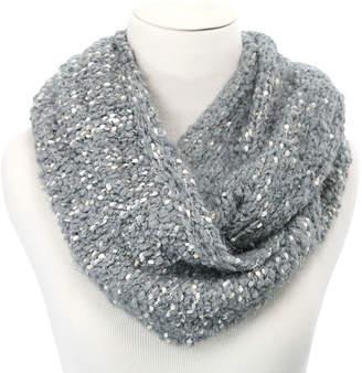 Cuddl Duds Plush Spacedye Knit Infinity Scarf