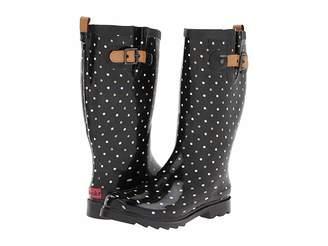 Chooka Classic Dot Rain Boot Women's Rain Boots