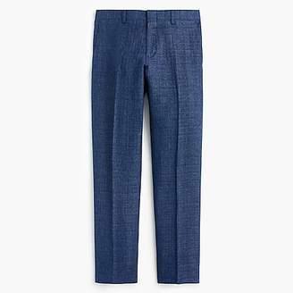 J.Crew Ludlow Slim-fit suit pant in blue Italian linen