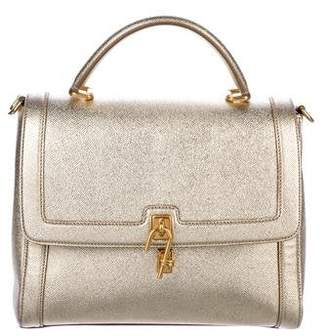Dolce & Gabbana Miss Bonita Leather Satchel